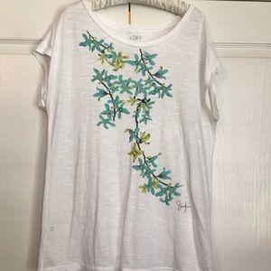 Loft tee shirt size L